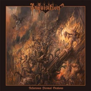 INQUISITION Nefarious Dismal Orations CD-digipack