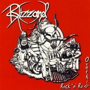 BLIZZARD Rock 'n' Roll Overkill LP