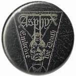ASPHYX  Embrace The Death - button badge
