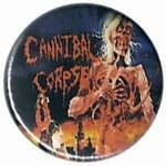 CANNIBAL CORPSE Eaten Back To Life - przypinka - button badge