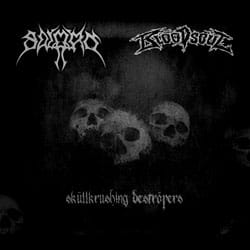 SWORN / BLOODSOUL SkĂźllkrushing DestrĂśyers CD-R