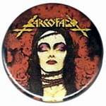SARCOFAGO The Laws of Scrouge - przypinka