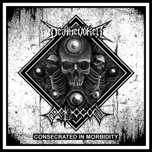 PATHOGEN / DEATHEVOKER Consecrated in Morbidity CD