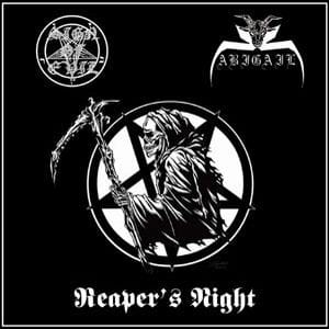 ABIGAIL / SIGN OF EVIL Reaper's Night CD