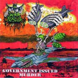 "WAR PLAGUE Government Issued Murder 7""EP"