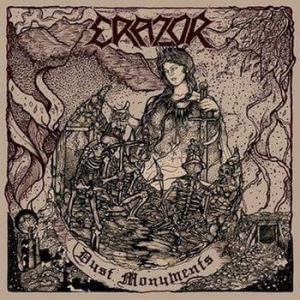 ERAZOR Dust Monuments CD