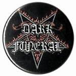 DARK FUNERAL logo - button badge