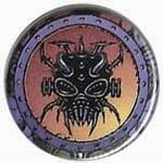 VOIVOD Target Earth - przypinka - button badge