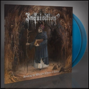 INQUISITION Invoking the Majestic Throne of Satan 2LP (BLUE)
