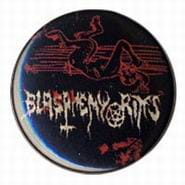 BLASPHEMY RITES Devil - button badge