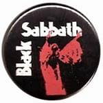 BLACK SABBATH Vol.4 - button badge