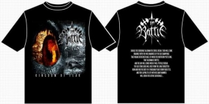IN BATTLE Kingdom of Feat T-SHIRT (L)