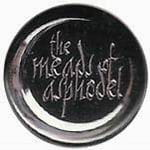 THE MEADS OF ASPHODEL logo - przypinka - button badge