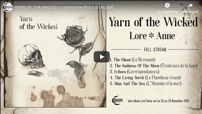 YARN OF THE WICKED: debut mini-album out, stream here